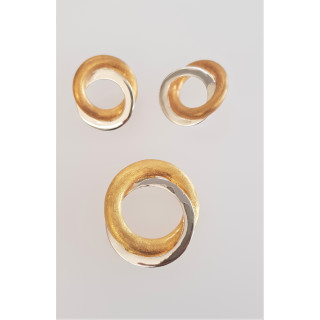 Silber Set vergoldet SA141