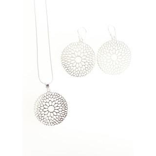 Silber Set poliert SA162