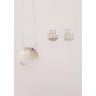 Silber Set gebürstet SA173
